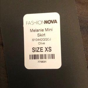 FN melanie mini skirt